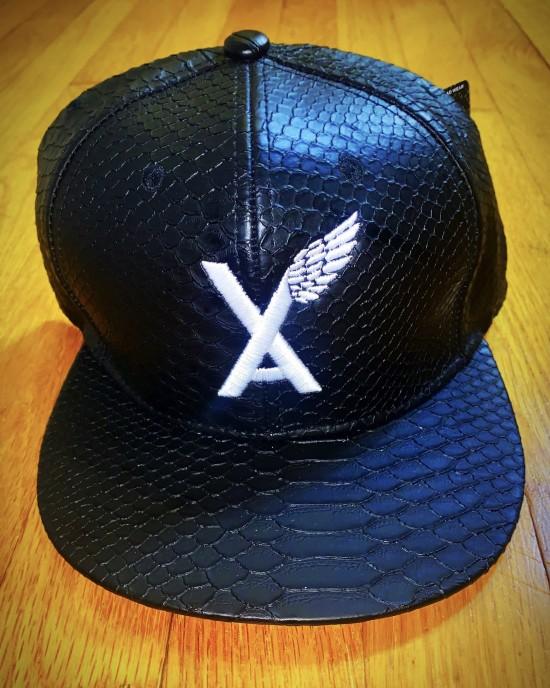"""VA w/wing"" Crocodile Hat"