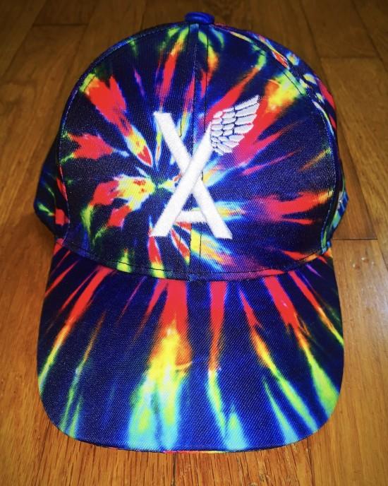 """""""VA w/wing"""" Reverse Tie Dye Dad Hat"""