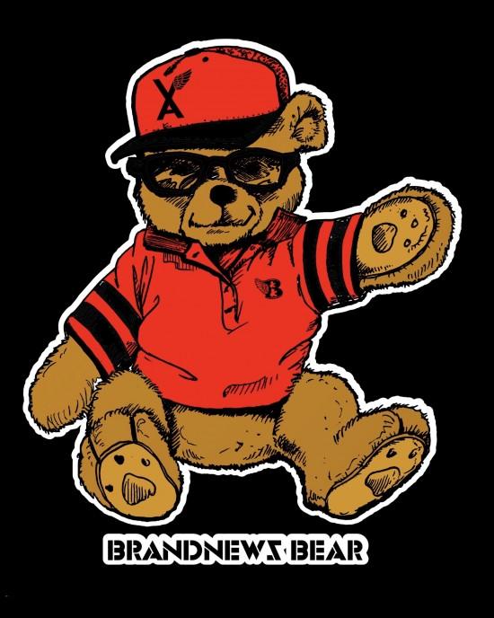 """""""BrandNewZ Bear"""" Women's Tee"""