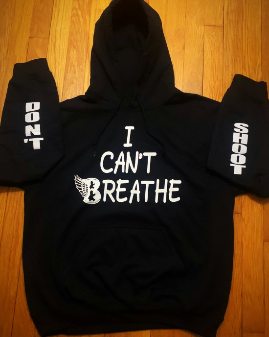 """""""I Can't Breathe/Don't Shoot"""" Hoodie"""