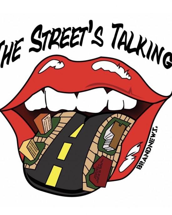 """The Street's Talking"" Women's Tee"