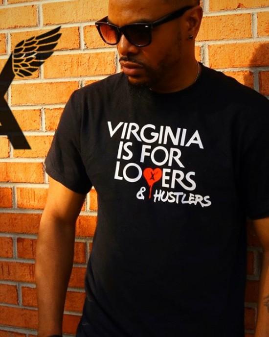 """""""Virginia Lovers/Hustlers"""" Men's Tee"""