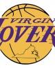 """Virginia Lovers Purp/Gold"" Unisex Raglan Baseball Tee"